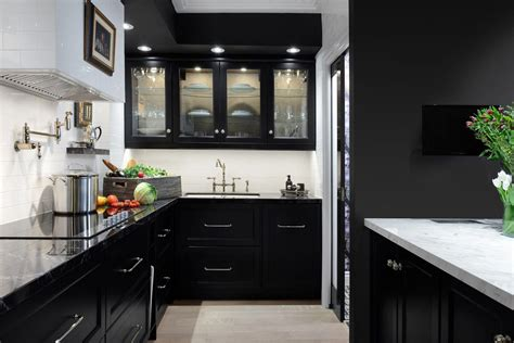 10 black kitchen color schemes ideas