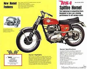 Bsa 1965 Spitfire Hornet