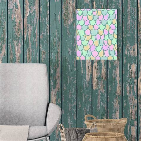 Scala Jetty by Jetty Home 8 In X 10 In Quot Green And Blue Mermaid Scale
