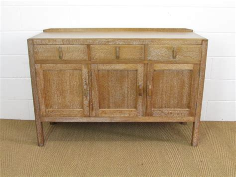 Heal's Limed Oak Cotswold Style Sideboard