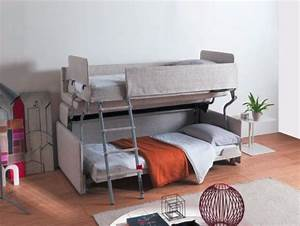space saving sleepers sofas convert to bunk beds in With convert sofa into bed