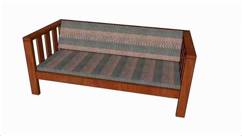 outdoor sofa plans youtube