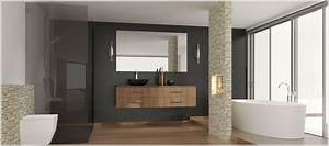 Badezimmer Platten Statt Fliesen : alternativen zu fliesen im bad magazin ~ Watch28wear.com Haus und Dekorationen