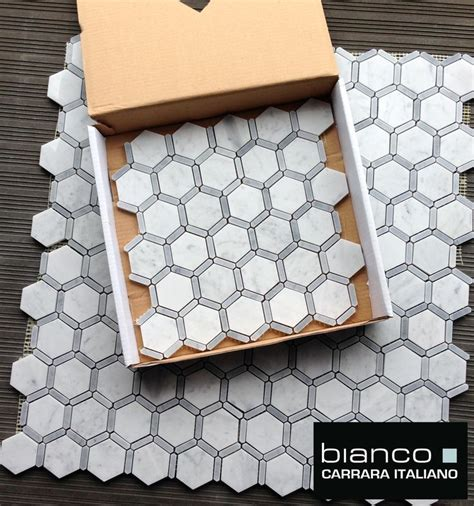 home depot hexagon marble tile 25 best ideas about marble mosaic on white
