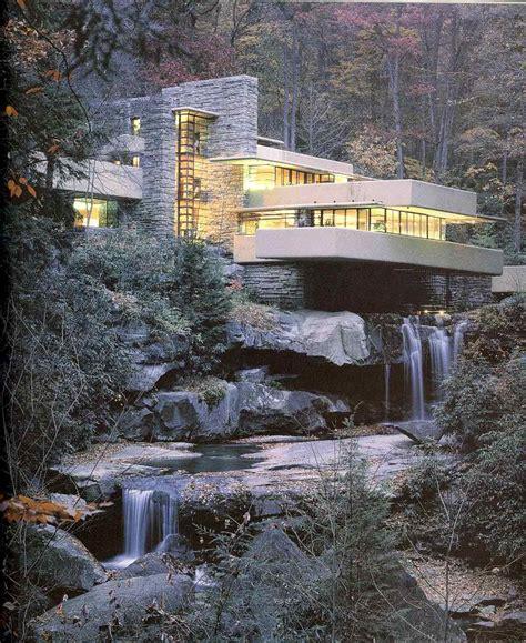 frank lloyd wright maison sur la cascade run 1935 39 pennsylvanie etats unis