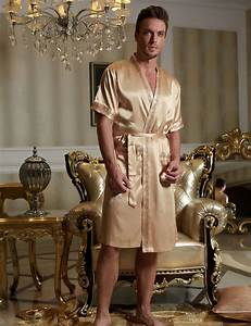 online buy wholesale mens short robes from china mens With robe de chambre courte pour homme en satin