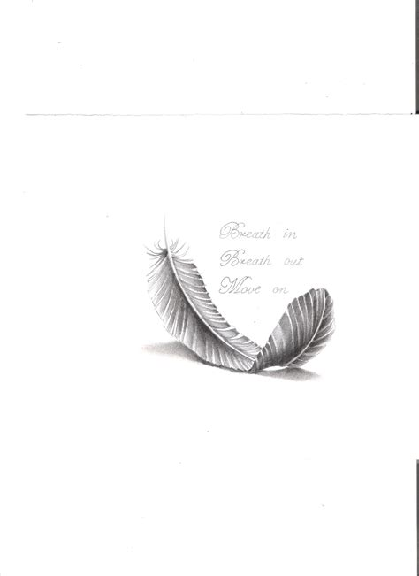 simple feather  quote black white quotes