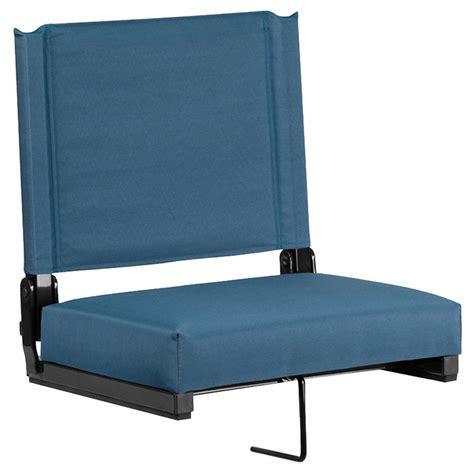 Stadium Chair  Ultra Padded Seats, Green  Dcg Stores