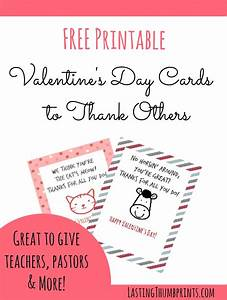 Free Valentine's Day Cards to Thank Others