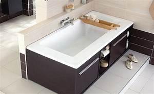 Baignoire Avec Tablier : baignoire design meilleures images d 39 inspiration pour ~ Premium-room.com Idées de Décoration