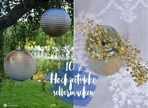 10 Einfache Diy Hochzeitsdekoideen