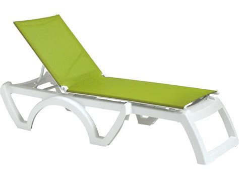 chaise grosfillex grosfillex calypso resin sling white chaise sold in 2