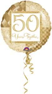 50 wedding anniversary golden wedding anniversary pieces supplied by izzys shop