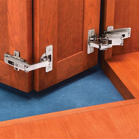 Corner Cabinet Door Hinges by Salice 174 Frame Self Closing Pie Corner Cabinet Hinge