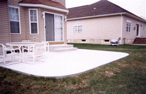 proper construction for a concrete patio or slab part 1