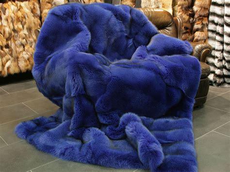 saga blue fox fur blanket lars paustian furs