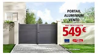 Portail Coulissant Alu Brico Depot Portail Cl Ture Portail