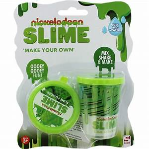 Nickelodeon Make Your Own Green Slime | Activity Toys at ...