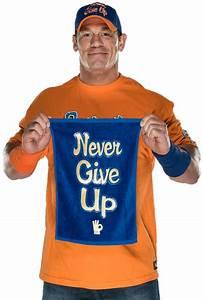 John Cena Never Give Up Blue | www.pixshark.com - Images ...