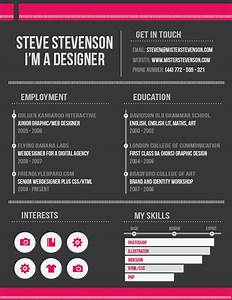 design a clean effective resume in indesign With indesign resume