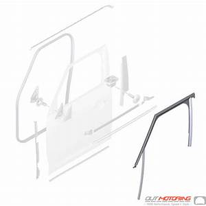 51337390093 Mini Cooper Replacement Parts Window Guide