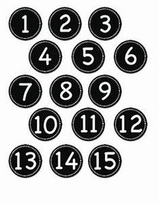 Number labels blue and circles on pinterest for Circle number labels