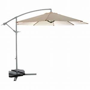 Parasol De Balcon Leroy Merlin : parasol de balcon leroy merlin good dalle pour parasol excentr lest dcor pierre gris with ~ Melissatoandfro.com Idées de Décoration