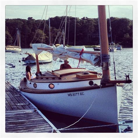 Cape Cod Cat Boat  Boats Pinterest