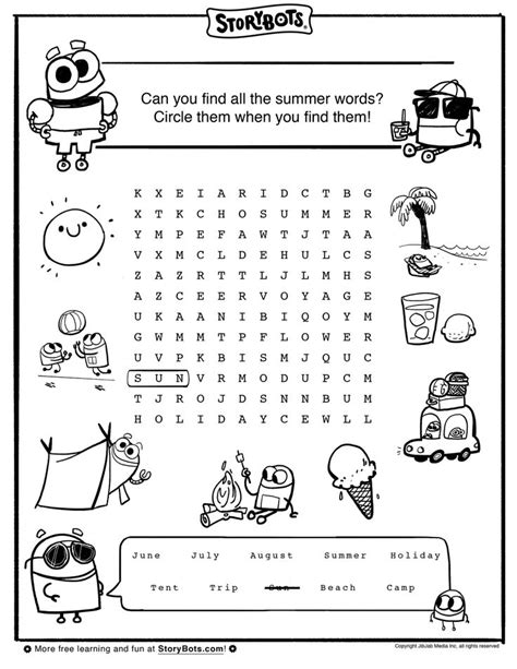 25 best images about summer activity sheets on pinterest cover pages maze and homemade lemonade