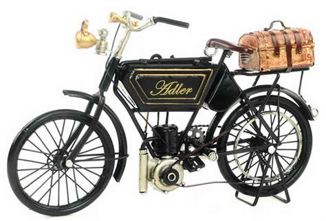 handmade antique model kit motorcycle  adler