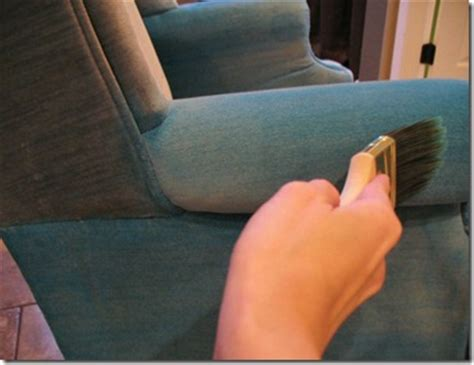 teinture tissu canapé votre fauteuil préféré en tissu est taché repeignez le