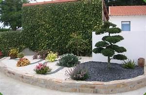 Parterre De Fleur Avec Cailloux : massif decoratif jardin mc immo ~ Melissatoandfro.com Idées de Décoration