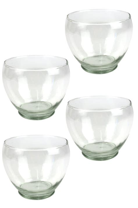 Round Glass Candle Holder Set Glass Ball Candle holder