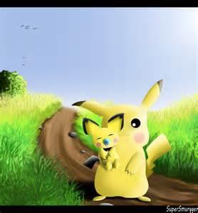 Cute Baby Pikachu Pichu