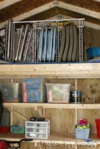 Organize Shed Storage Ideas