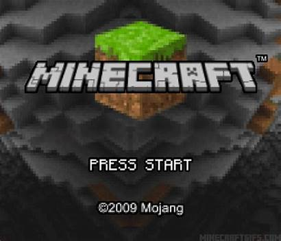 Screen Title Gameboy Advance Minecraft Gaming Gifs