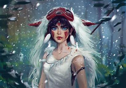 Mononoke Princess Wallpapers Background 2924 2051