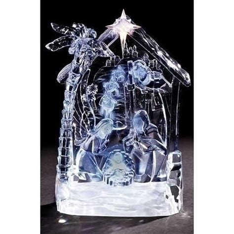 roman acrylic nativity set dome google search awesome