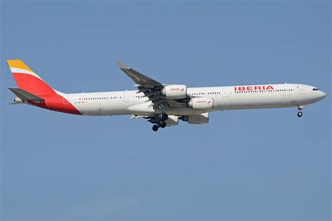 Iberia Fleet Airbus A340 600 Details and Pictures (Dengan