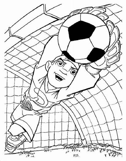 Coloring Football Pages Templates Colouring Template Pdf