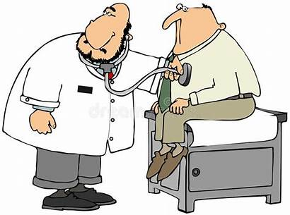 Doctor Patient Heart Check Rate Checking Exam