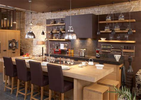 luminaire ilot central cuisine bien éclairer sa cuisine inspiration cuisine le