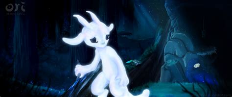 Ori And The Blind Forest Wallpaper Ori And The Blind Forest By Valsidalver On Deviantart