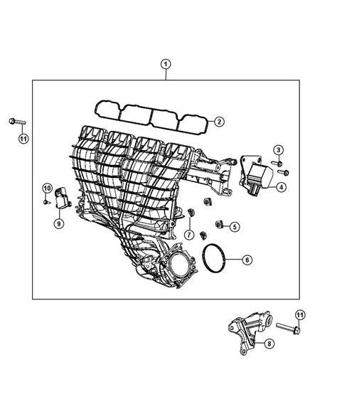 Jeep Patriot 2 4 Engine Diagram by Jeep Patriot Manifold Intake Flow Ecn Eba 04884495aj