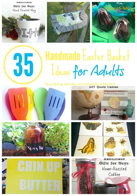 easter for adults handmade easter basket ideas for adults