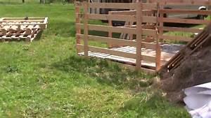 Potager Hors Sol : construction d 39 un potager hors sol en palette youtube ~ Premium-room.com Idées de Décoration