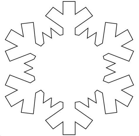 free snowflake template 14 free snowflake templates pdf free premium templates