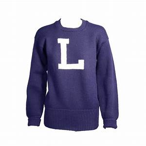 vintage navy and white letter sweater for sale at 1stdibs With sweaters with letters on them