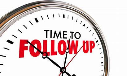 Follow Call Sales Clock Return Visit Ups