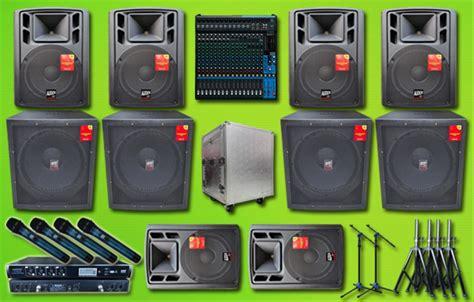 jual paket sound system outdoor yamaha auderpro
